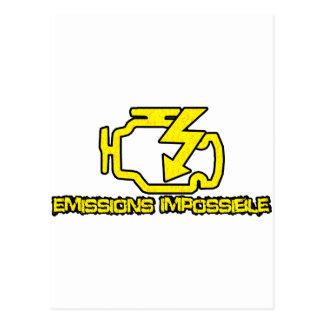 Cartão Postal Emissões impossíveis