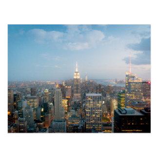 Cartão Postal Empire State Building na Nova Iorque
