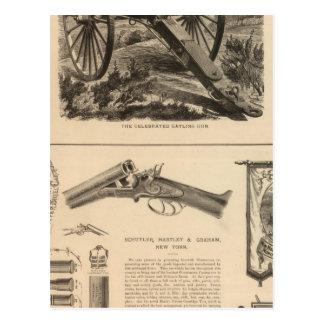 Cartão Postal Empresa Schuyler, Hartley e Graham da arma de