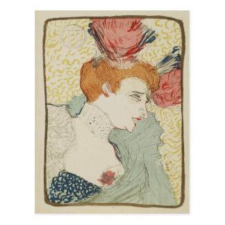 Cartão Postal Emprestador de Marcelle da senhorita por Toulouse