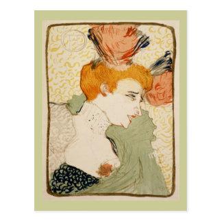 Cartão Postal Emprestador de Marcelle, Henri de Toulouse-Lautrec