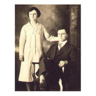 Cartão Postal En 1930 do jumeaux de Les
