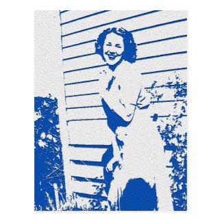 Cartão Postal Encanto do vintage