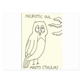 Cartão Postal … encontra Cthulhu
