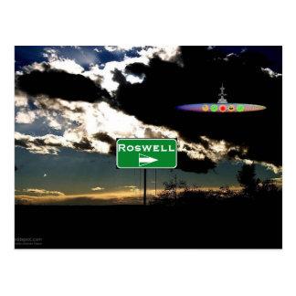 Cartão Postal Encontrando Roswell