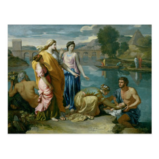 Cartão Postal Encontrar de Moses, 1638