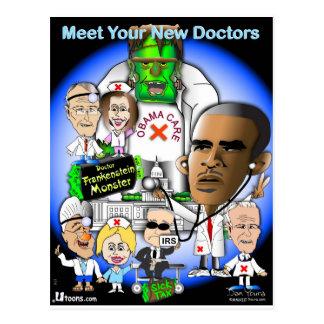 Cartão Postal Encontre seus doutores novos