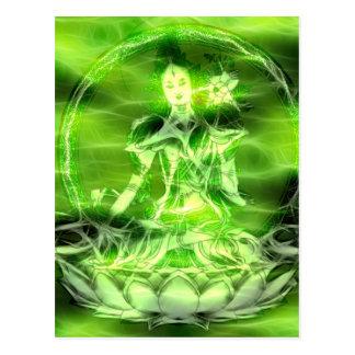 Cartão Postal Energia 5 Tara de Buddha