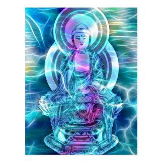 Cartão Postal Energia 6 de Buddha
