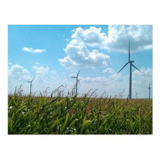 Cartão Postal Energias eólicas
