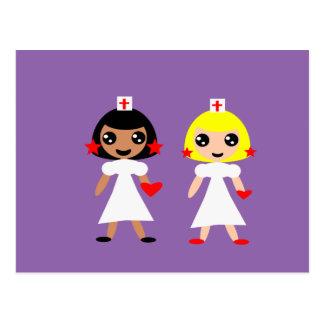 Cartão Postal Enfermeira