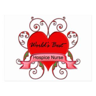 Cartão Postal Enfermeira do hospício do mundo a melhor