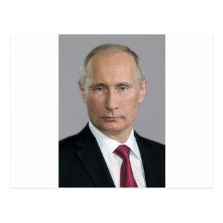 Cartão Postal Engrenagem de Vladimir Putin