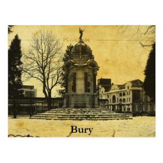 Cartão Postal Enterro