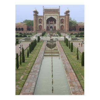 Cartão Postal Entrada a Taj Mahal, India