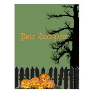 Cartão Postal Entrada assustador