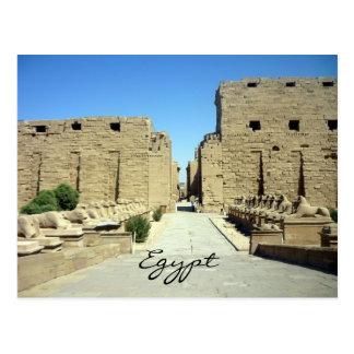 Cartão Postal entrada do karnak