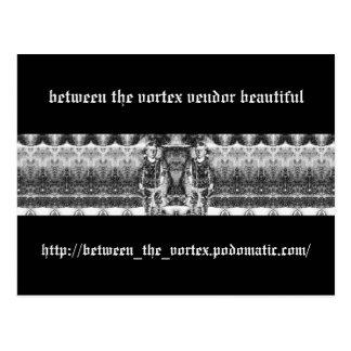 Cartão Postal entre o vendedor do vortex bonito