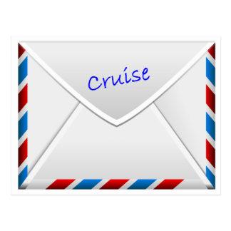 Cartão Postal Envelope do cruzeiro