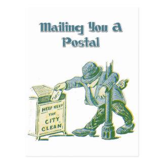 Cartão Postal Enviando o um postal - ou não!