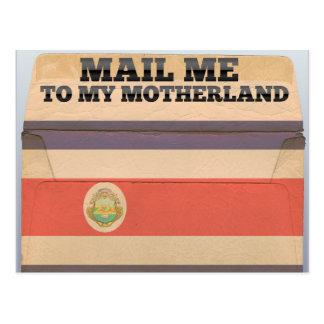 Cartão Postal Envie-me a Costa Rica