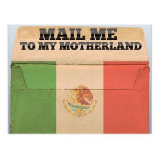Cartão Postal Envie-me a México