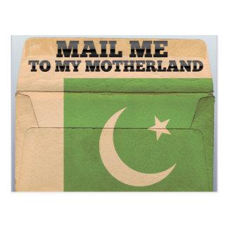 Cartão Postal Envie-me a Paquistão