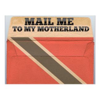 Cartão Postal Envie-me a Trinidad and Tobago