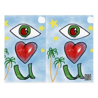 Cartão Postal Envie o amor