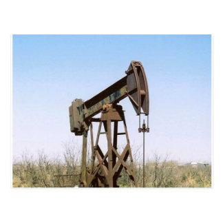 Cartão Postal Equipamento de bombeamento do óleo