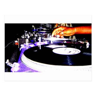 Cartão Postal Equipamento do DJ