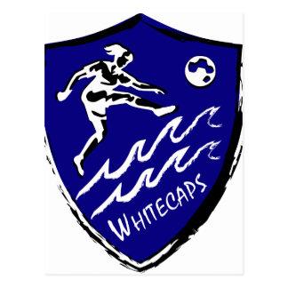 Cartão Postal Equipe de futebol das mulheres de Whitecaps
