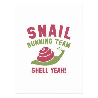 Cartão Postal Equipe Running do caracol