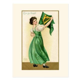 Cartão Postal Erin vai Bragh