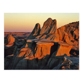 Cartão Postal Ermo no parque nacional de Theodore Roosevelt