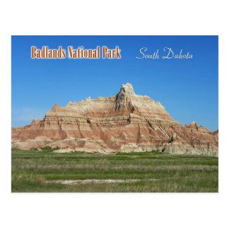 Cartão Postal Ermo parque nacional, South Dakota
