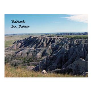 Cartão Postal Ermo, South Dakota
