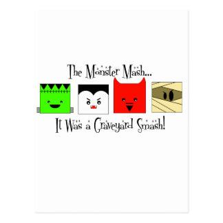 Cartão Postal Erva-benta do monstro…
