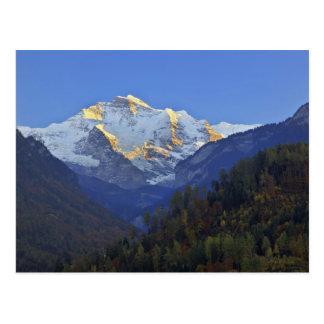 Cartão Postal Escala de Jungfrau de Interlaken