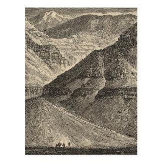 Cartão Postal Escarpment de Mogollon
