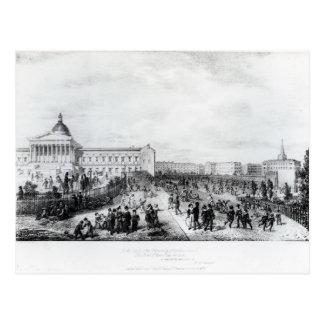 Cartão Postal Escola do University College, Londres, 1835