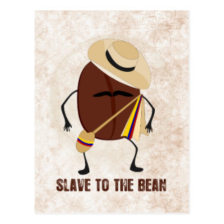 Cartão Postal Escravo ao feijão