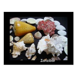 Cartão Postal Escudos de Zanzibar