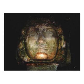 Cartão Postal Escultura do Medusa