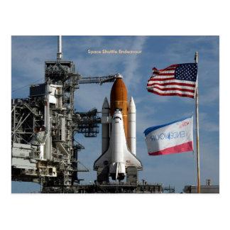 Cartão Postal Esforço do vaivém espacial