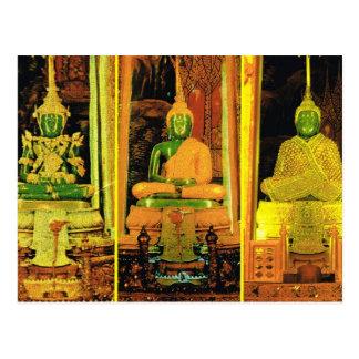 Cartão Postal Esmeralda Buddha de Tailândia, Banguecoque