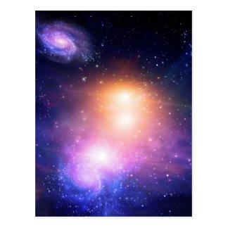 Cartão Postal Espaço galáctico