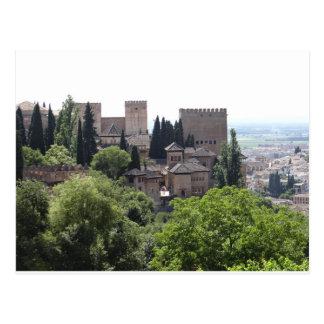 Cartão Postal Espanha de Alhambra, Granada