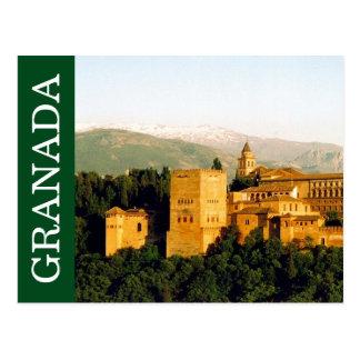 Cartão Postal espanha de granada