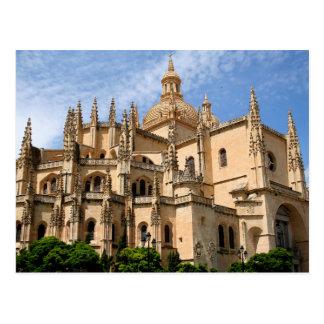Cartão Postal Espanha de Segovia